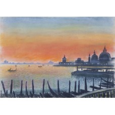 Sunset On The Lagoon, Venice